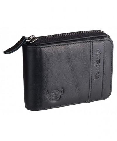 Admetus Cowhide leather wallet credit