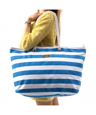 Large Canvas Beach Bag Holidays