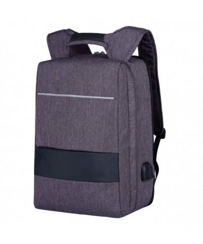 Backpack Computer Daypack Water Repellent Men Grey