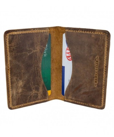 Hanks Belts Bi Fold Card Case