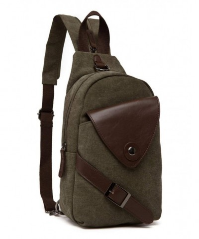 Backpack Aidonger Leather Bodybag Messenger