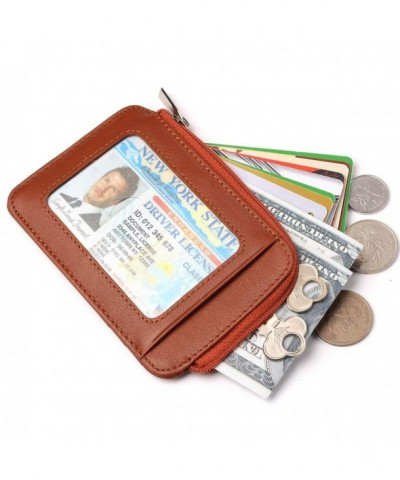 Mens Slim Zipper Wallet Blocking