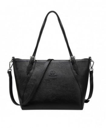 YOLANDO Genuine Leather Top handle Handbags
