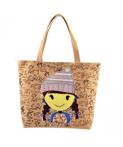 Donalworld Letter Shopping Shoulder Handbag