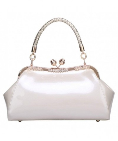 VonFon Patent Stereotypes Leather Handbag