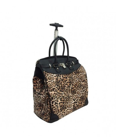 Wild Leapord Rollie Tote Foldable