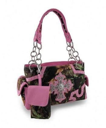 Western Rhinestone Concealed Shoulder Handbags
