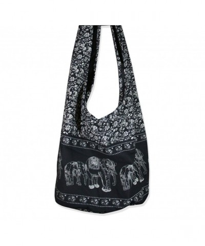 Thai Elephant Crossbody Bag Handmade