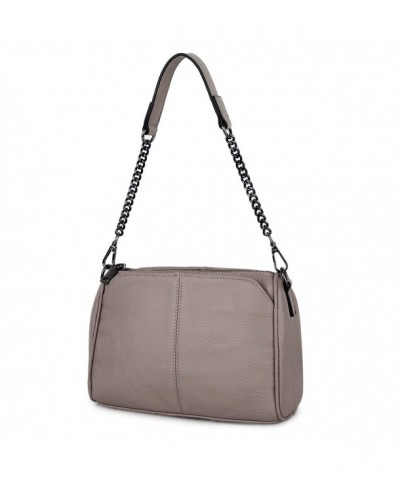 YALUXE Cowhide Leather Shoulder Handbag