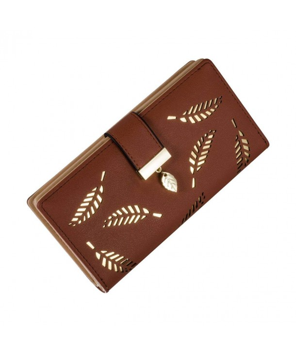 Womens Leather Wallet Pattern Handbag