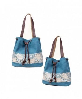 Canvas Shoulder Ladies Shopper Handbag