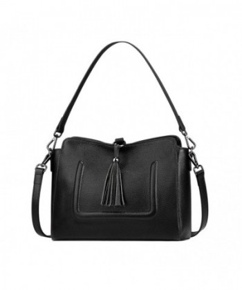 S ZONE Genuine Leather Crossbody Shoulder