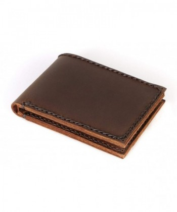 Slim Mens Leather Bifold Wallet