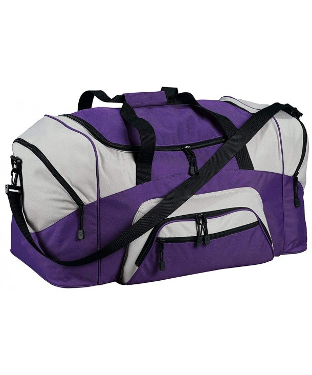 Company Colorblock Sport Duffel Purple
