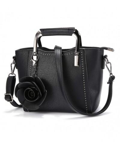 JOSEKO Top Handle Leather Handbag Crossbody