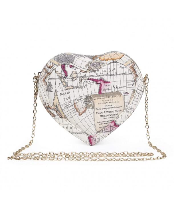 LUI SUI Leather Heart shaped Shoulder