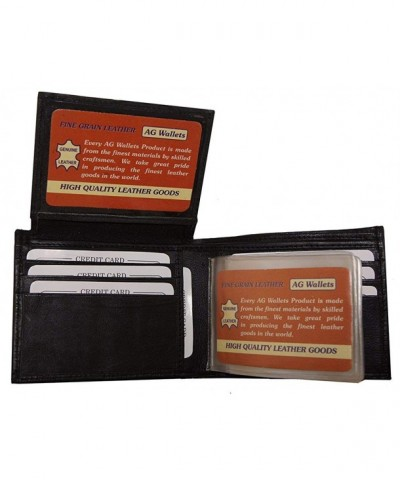 Wallets Genuine Leather Flipup Inserts
