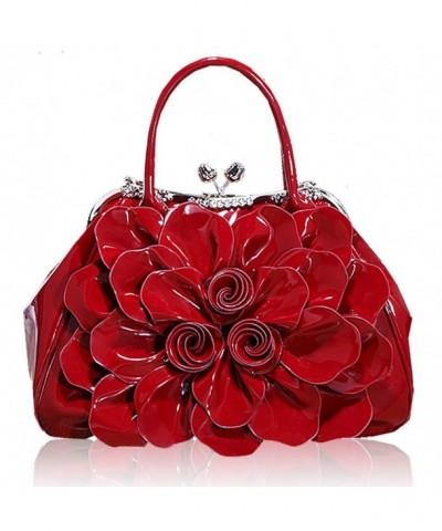 Fashion Shoulder Messenger Handbags Wine red