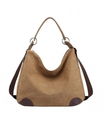Lonson Womens Canvas Shoulder Handbag