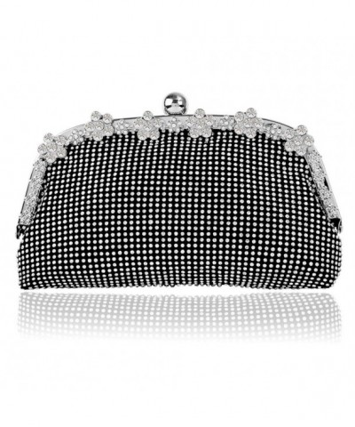 Bagood Rhinestones Clutches Shoulder Cocktail