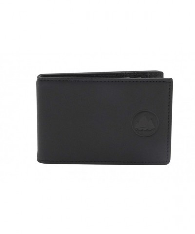 Bifold Leather Wallet Money Protection