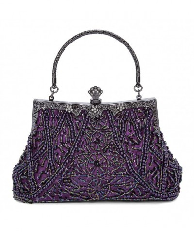 Fashion Vintage Handbag Sequined Rhinestone