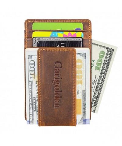 Garigolden Leather Blocking Wallet Vintage x