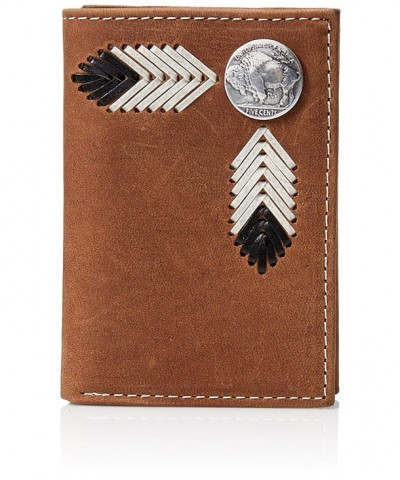 Nocona Buffalo Nickle Trifold Brown