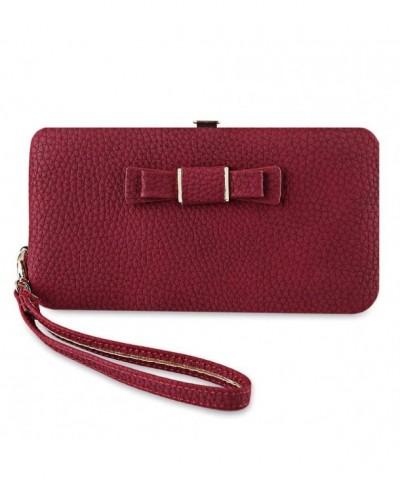 MIOIM Bowknot Leather Classic Handbag