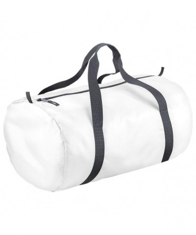 BagBase Womens Packaway Barrel White