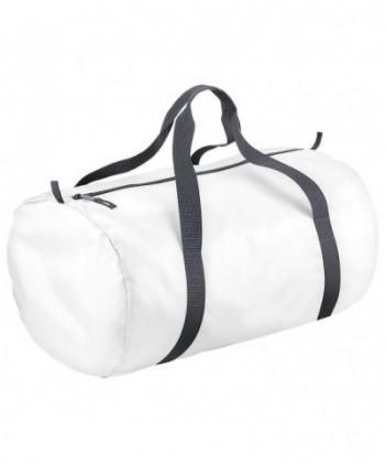 BagBase Womens Packaway Barrel White
