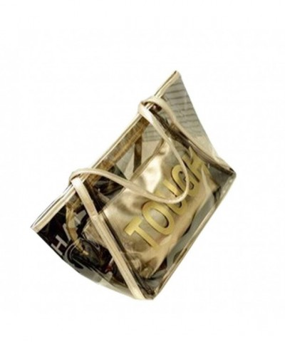 Transparent Handbag Shoulder Satchels Two pieces
