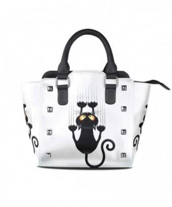 Couples Leather Handbags Shoulder Satchel