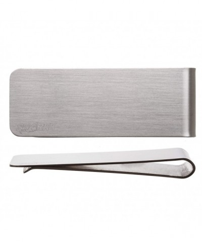 Stainless Classic Credit Holder Silver