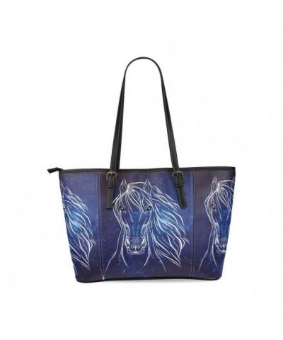 InterestPrint Romantic Leather Shoulder Handbag