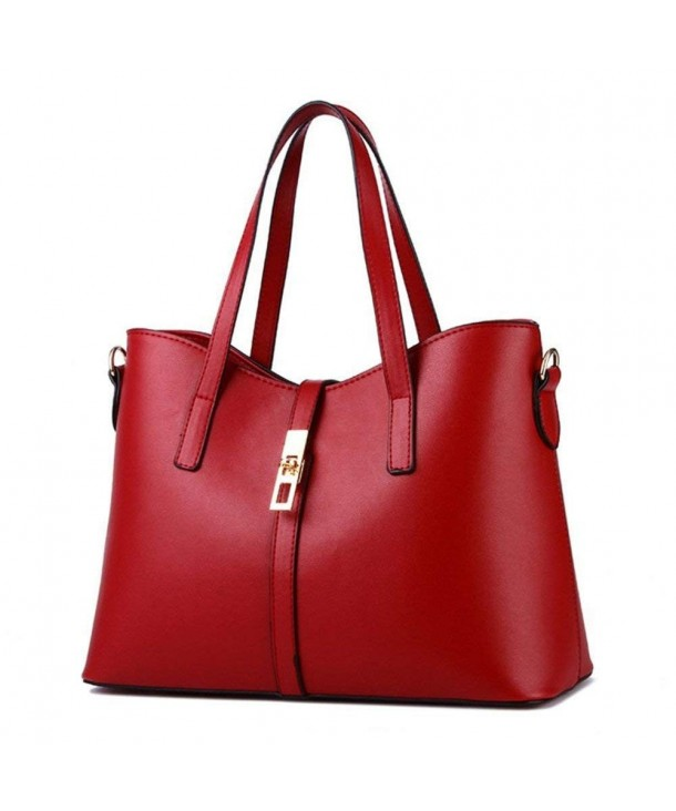 Leather Shoulder Business Top handle Handbags