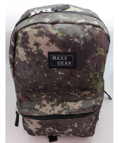 Maxx Gear Lightweight Backpack Camouflage