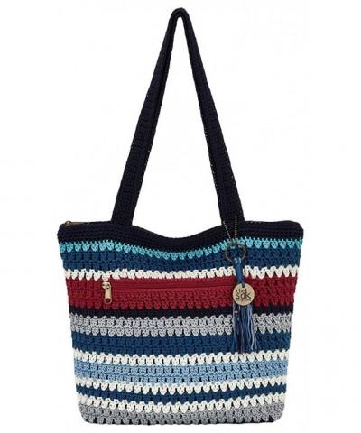 Riveria Tote Handbag Marina stripe