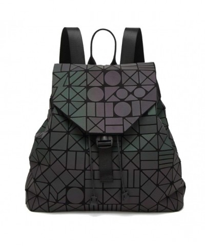 Youndcc Geometric Luminous Backpack Daypack