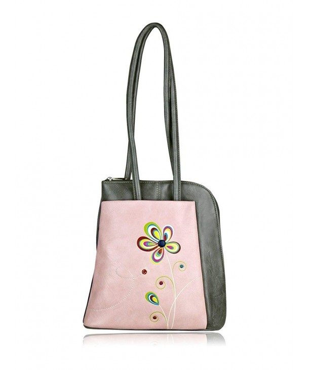 ESPE Solstice Flower Leather Backpack