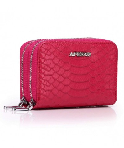 APHISON Ladies Genuine Leather Blocking