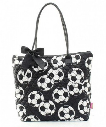 Handbag Inc Quilted Soccer Accent
