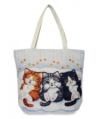 Cat Tapestry Tote X Large Cradle