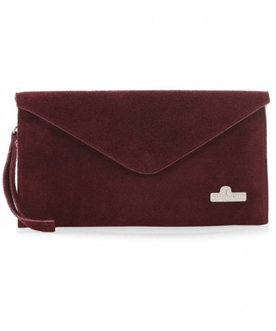 LiaTalia Italian Leather Envelope Evening