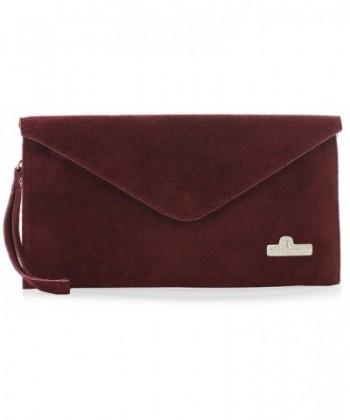 LiaTalia Italian Leather Envelope Evening