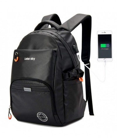 Lekesky Laptop Backpack Men Anti Theft