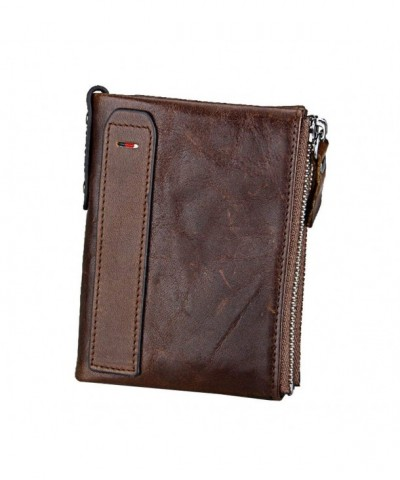 RFID Blocking Wallet Vintage Leather