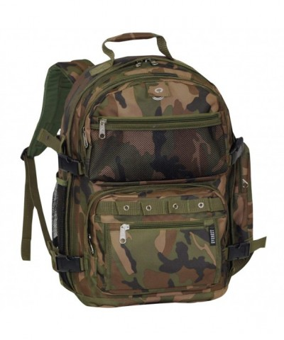 Everest Oversize Woodland Backpack Camouflage