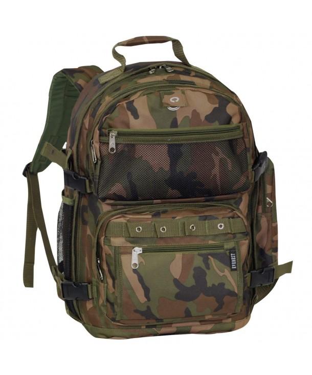 Everest Oversize Woodland Backpack Camouflage