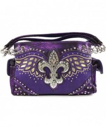 Justin West Fleur Concealed Handbag